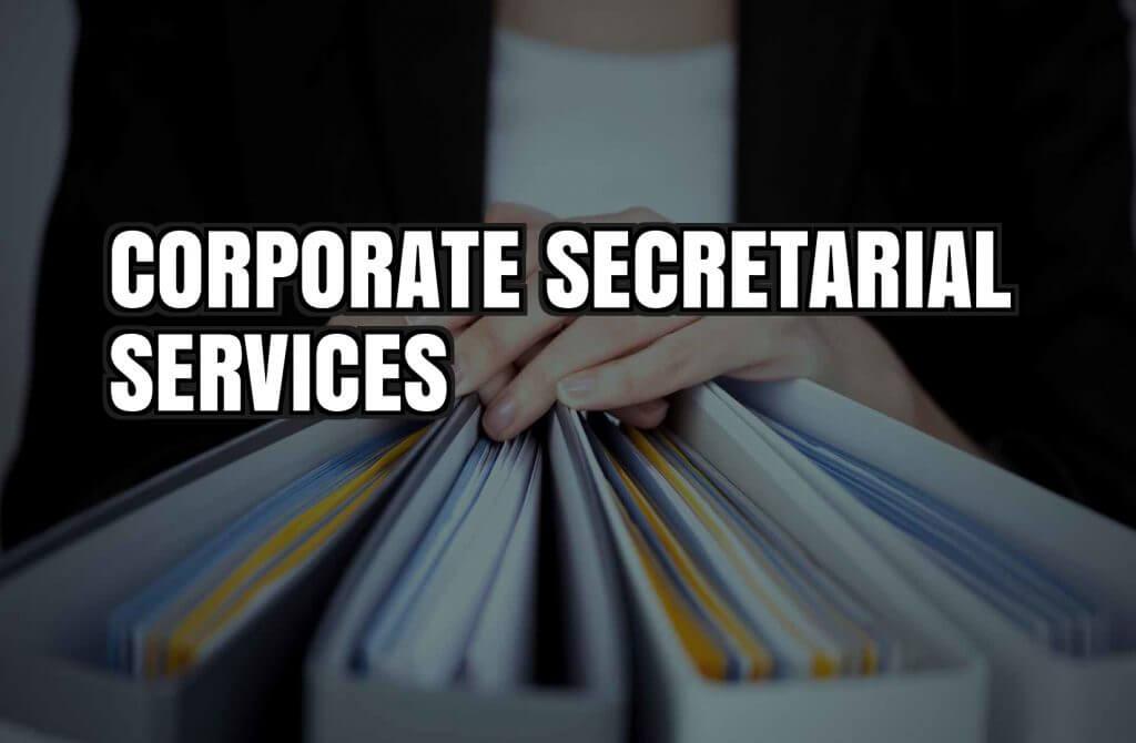 Corporate secretarial services; Company Secretary Singapore